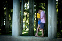 A Magic Moment engagement shoot at Craft Azalea Park Winter Park
