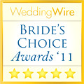 WeddingWire Bride Choice Orlando Photographer