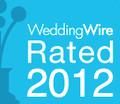 WeddingWire 2012 Orlando photographer Rated