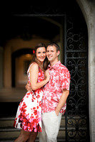 A Magic Moment engagement shoot at Rollins College Winter Park