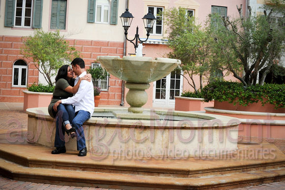 Orlando wedding photography | wedding videographer  | A magic moment | Bernabe
