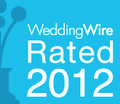 WeddingWire 2012 Orlando photographer Rated
